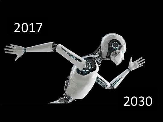 图解国务院人工智能发展规划:2030年达1万亿产业规模