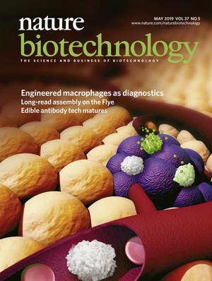2018年科研产业化十佳案例(上) | Nature Biotechnology